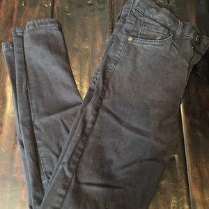 Women's Topshop Jamie Distressed Skinny Jeans